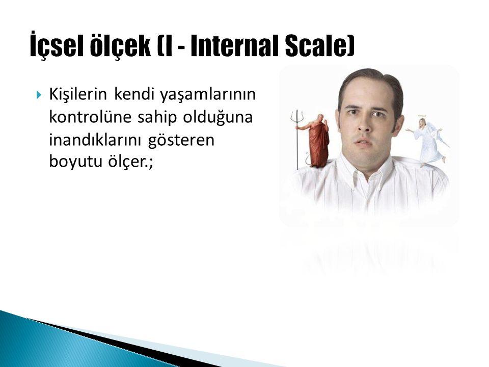 İçsel ölçek (I - Internal Scale)
