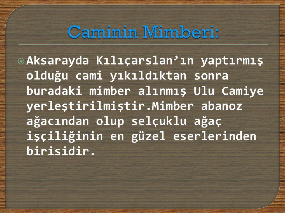 Caminin Mimberi: