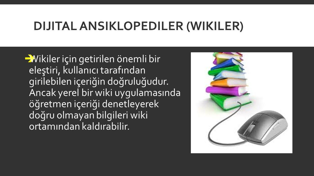 Dijital Ansiklopediler (Wikiler)