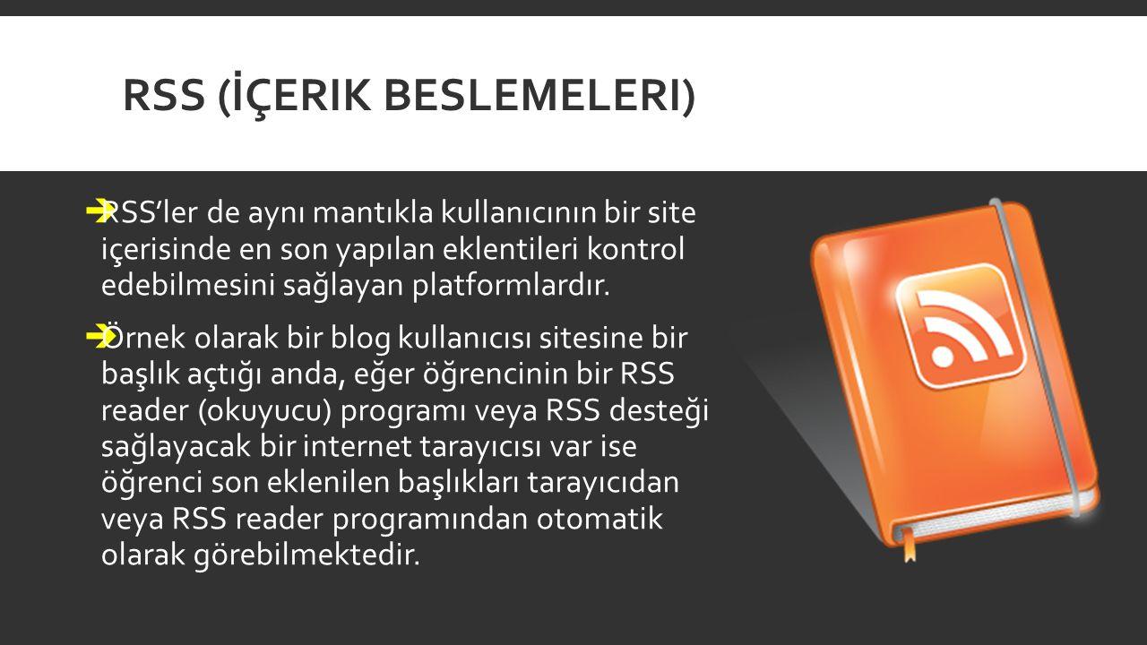 RSS (İçerik Beslemeleri)