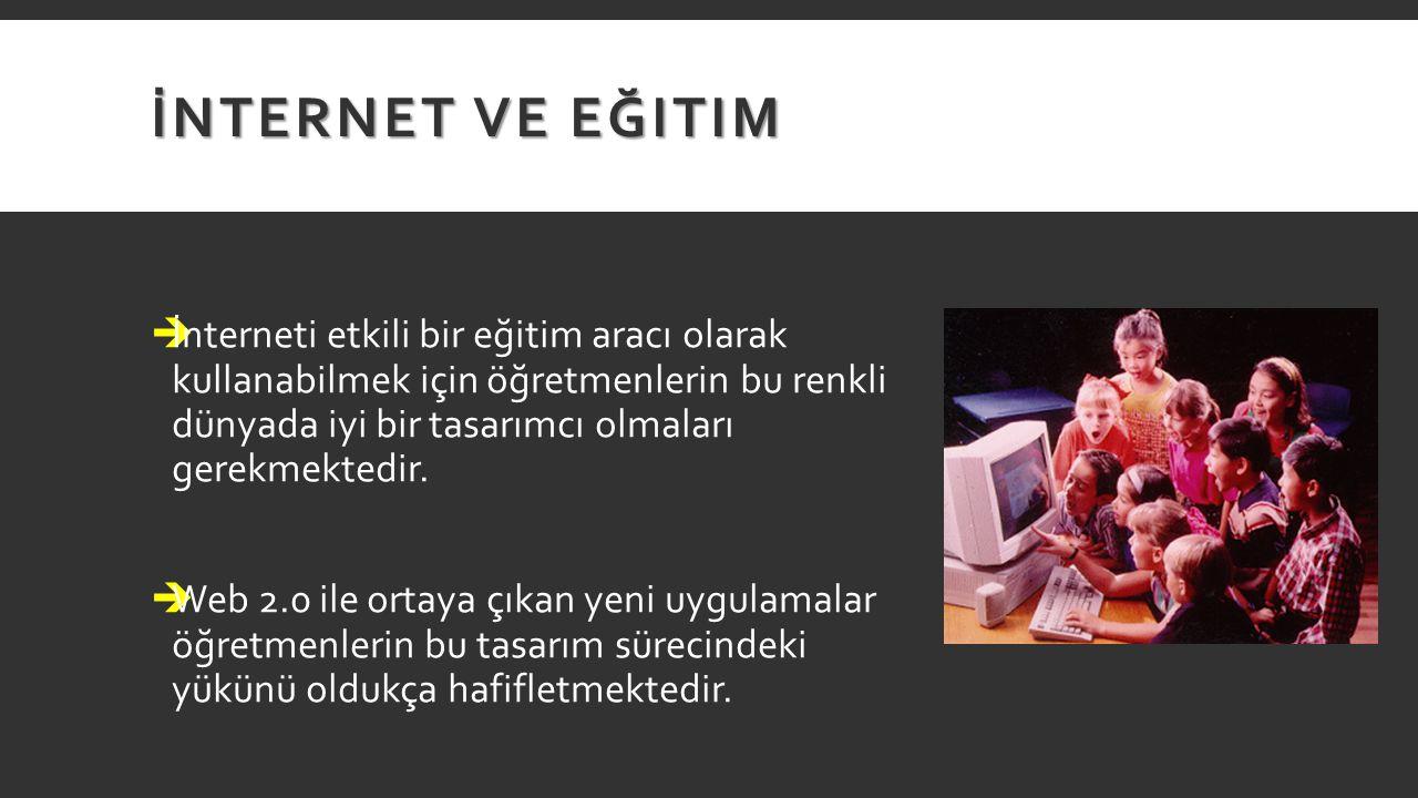 İnternet ve Eğitim