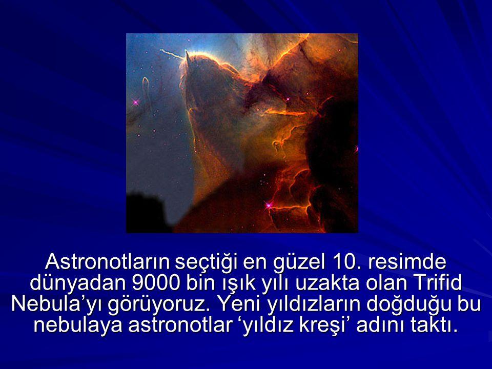 Astronotların seçtiği en güzel 10