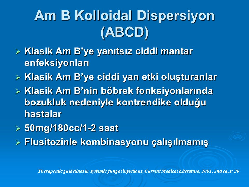Am B Kolloidal Dispersiyon (ABCD)