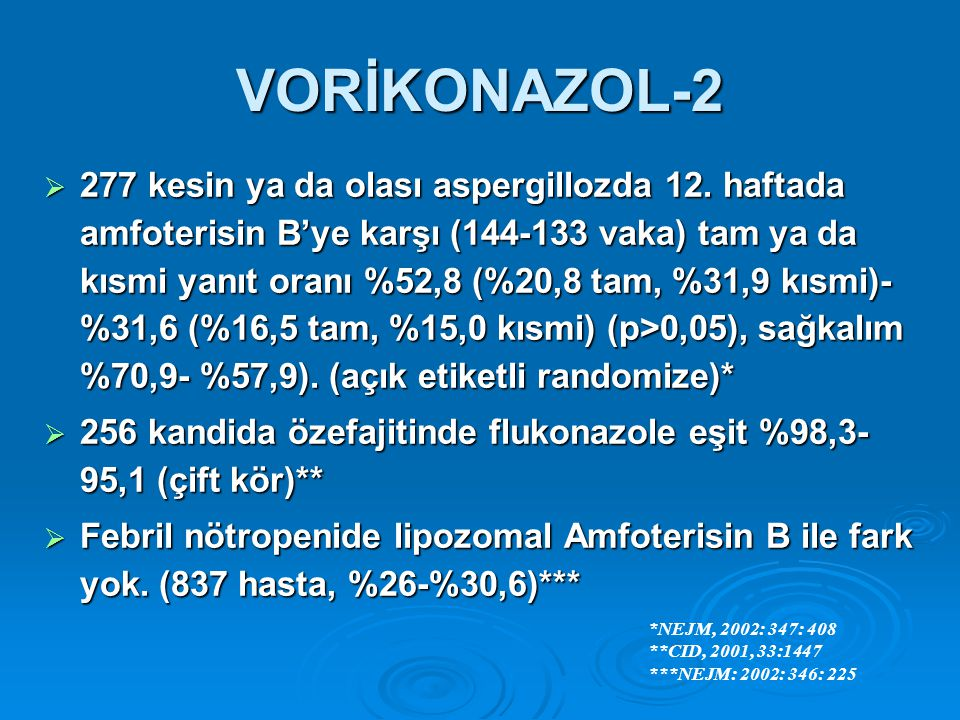 VORİKONAZOL-2