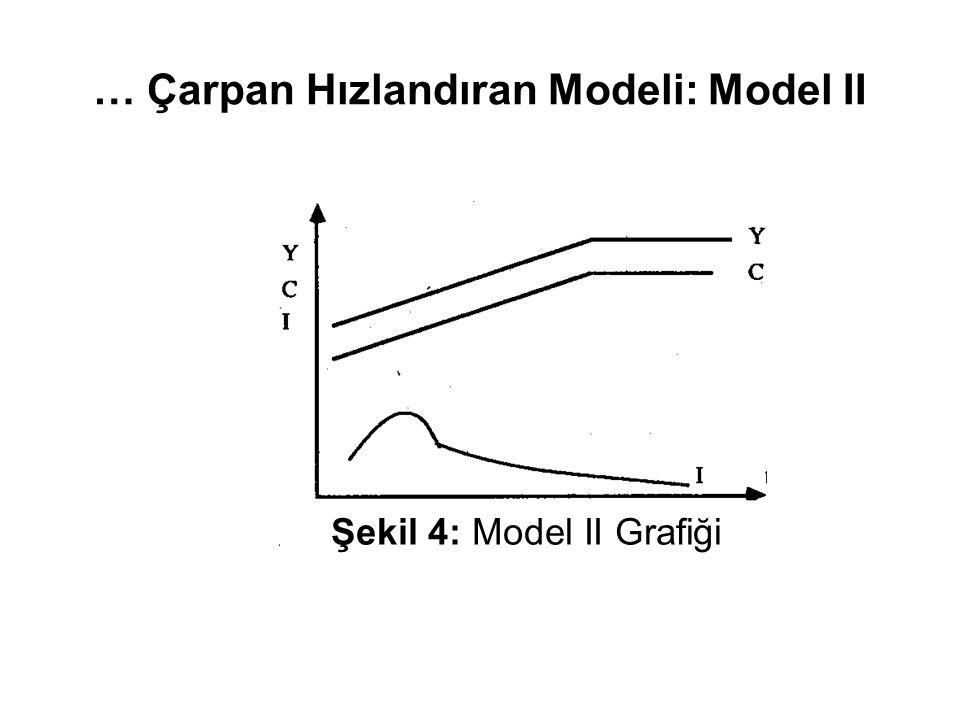 … Çarpan Hızlandıran Modeli: Model II