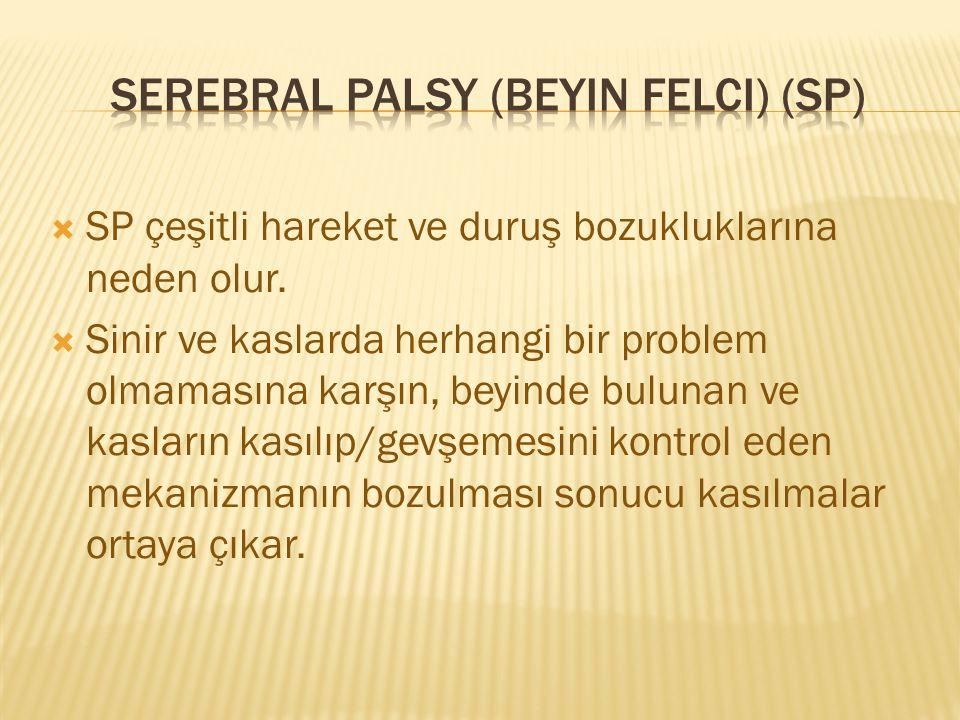 Serebral palsy (beyin felci) (SP)