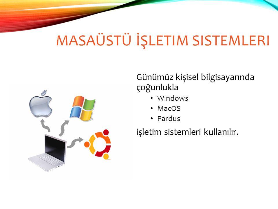 Masaüstü İşletim Sistemleri
