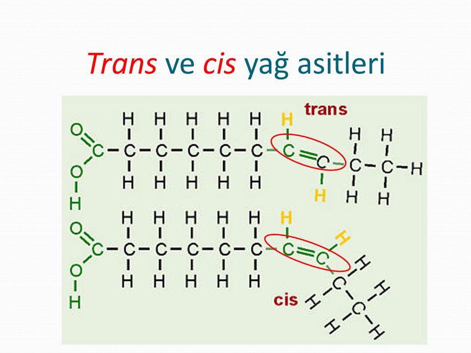 Trans ve cis yağ asitleri