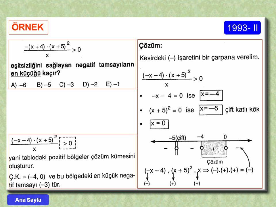 ÖRNEK 1993- II Ana Sayfa
