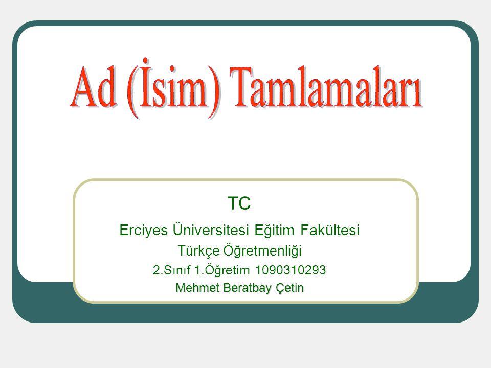 Erciyes Üniversitesi Eğitim Fakültesi