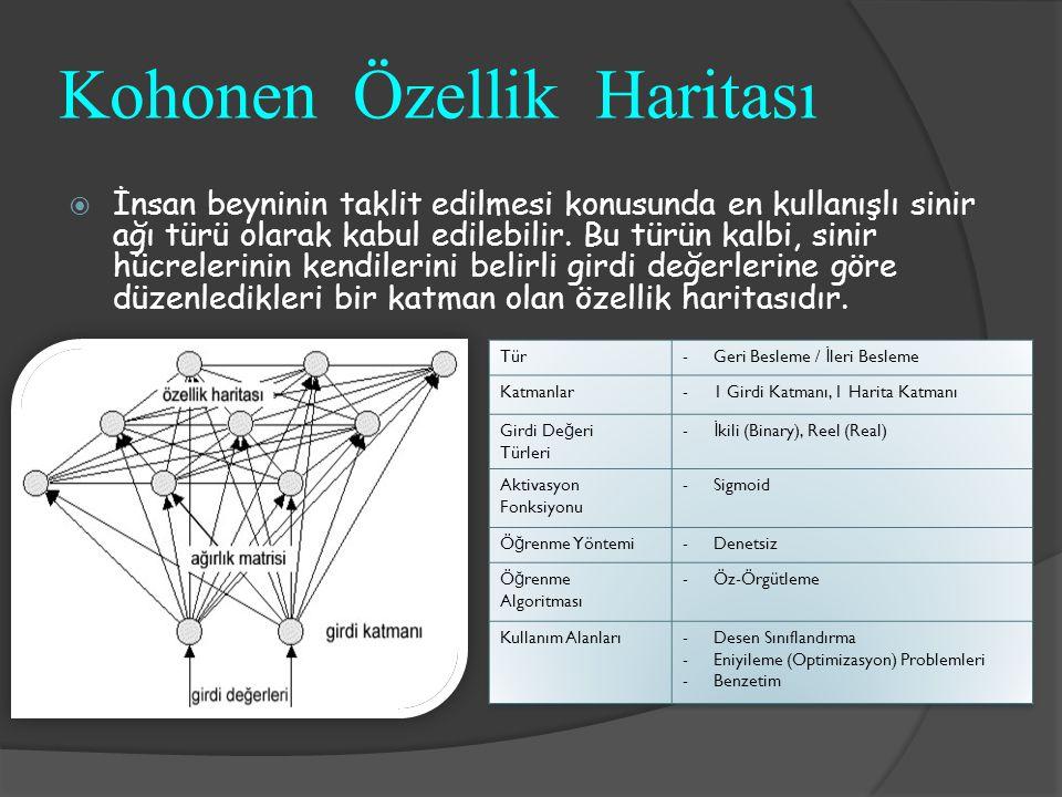 Kohonen Özellik Haritası