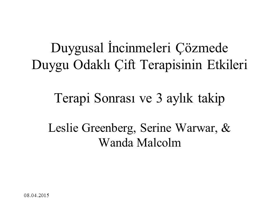 Leslie Greenberg, Serine Warwar, & Wanda Malcolm