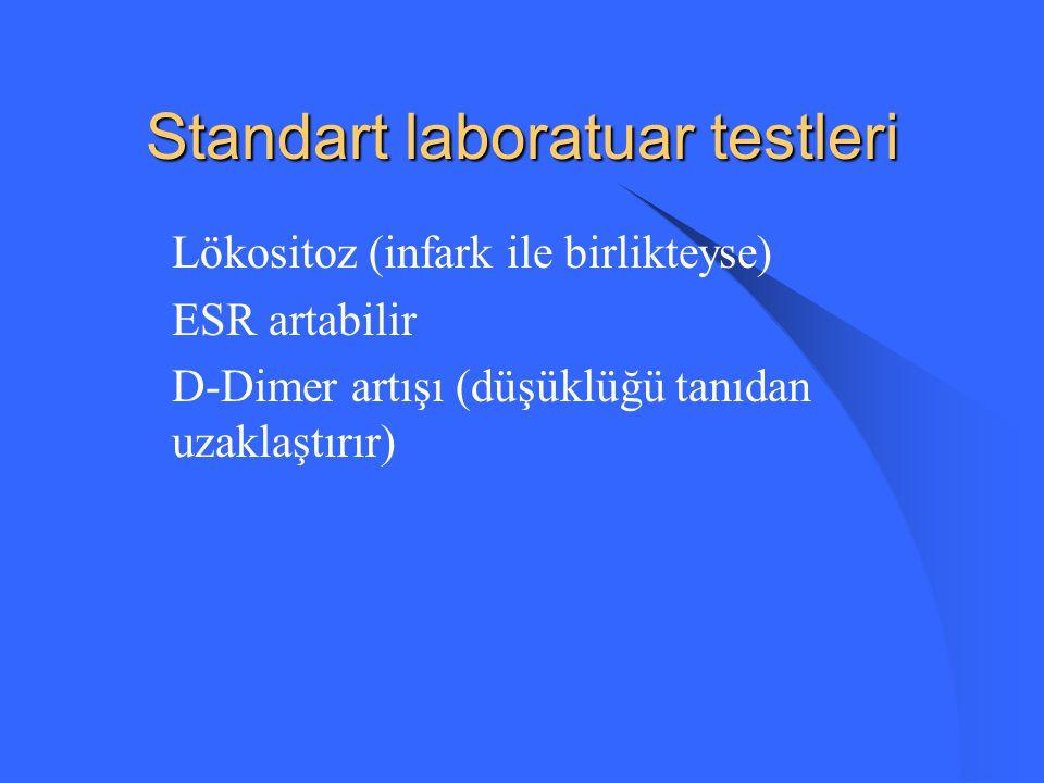 Standart laboratuar testleri