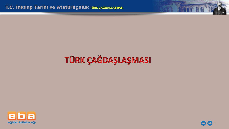 T.C. İnkılap Tarihi ve Atatürkçülük TÜRK ÇAĞDAŞLAŞMASI