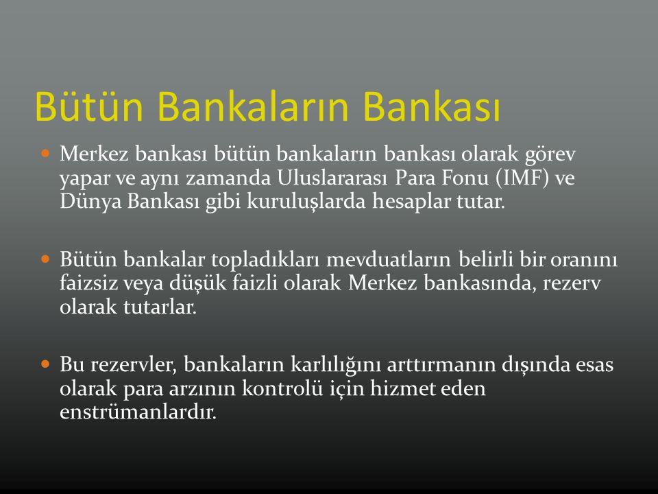 Bütün Bankaların Bankası