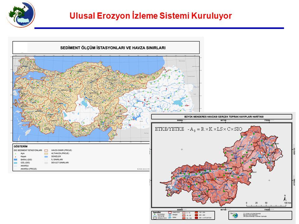 Ulusal Erozyon İzleme Sistemi Kuruluyor