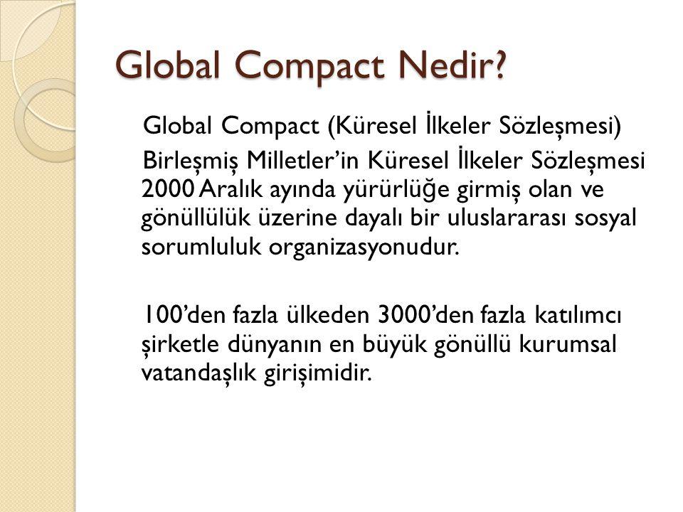 Global Compact Nedir