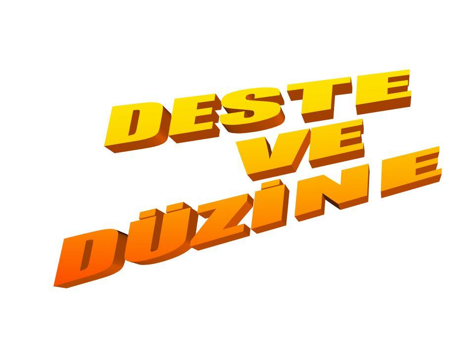DESTE VE DÜZİNE