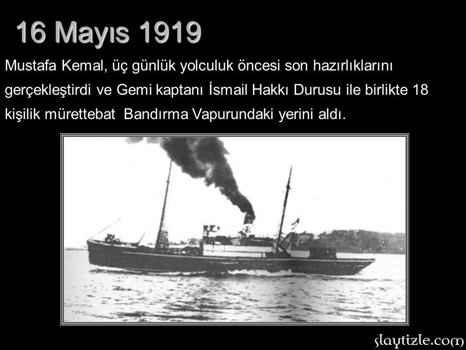 16 Mayıs 1919