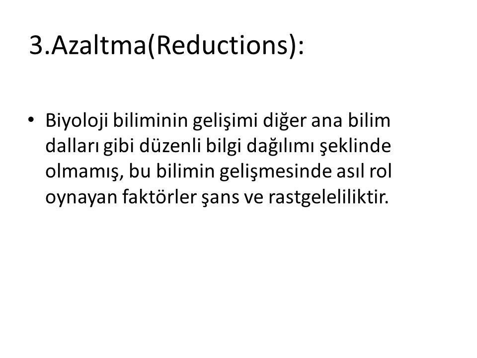 3.Azaltma(Reductions):