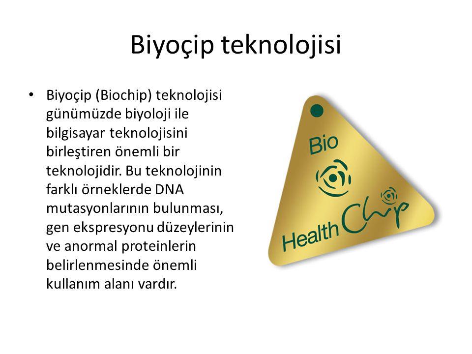Biyoçip teknolojisi