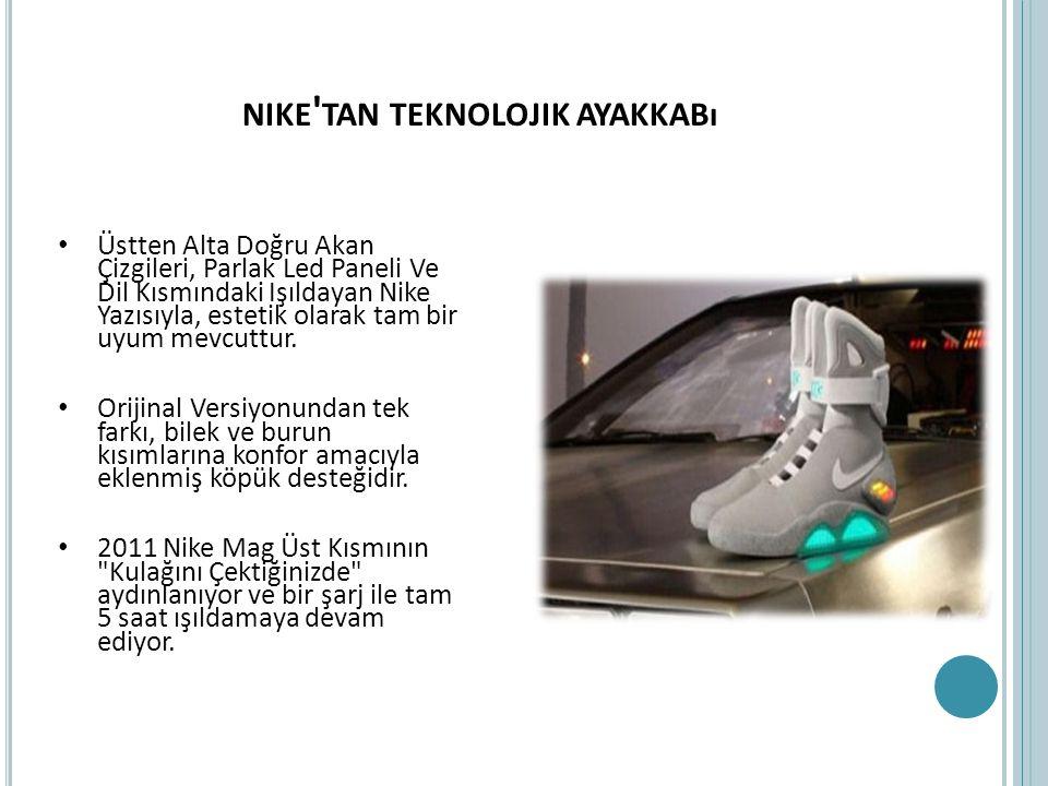 nike tan teknolojik ayakkabı