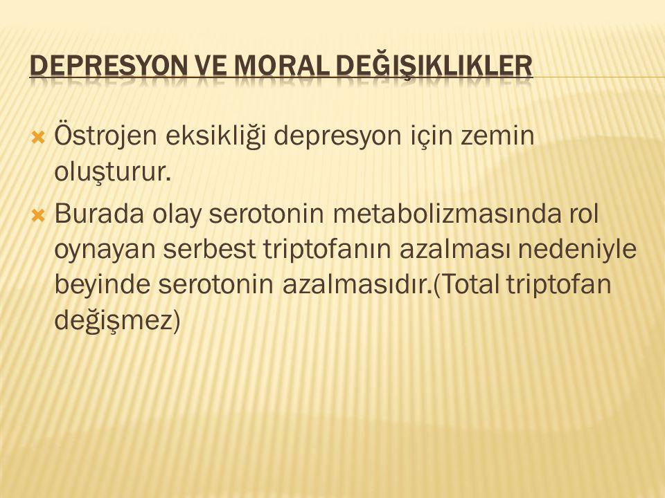 Depresyon ve Moral değişiklikler