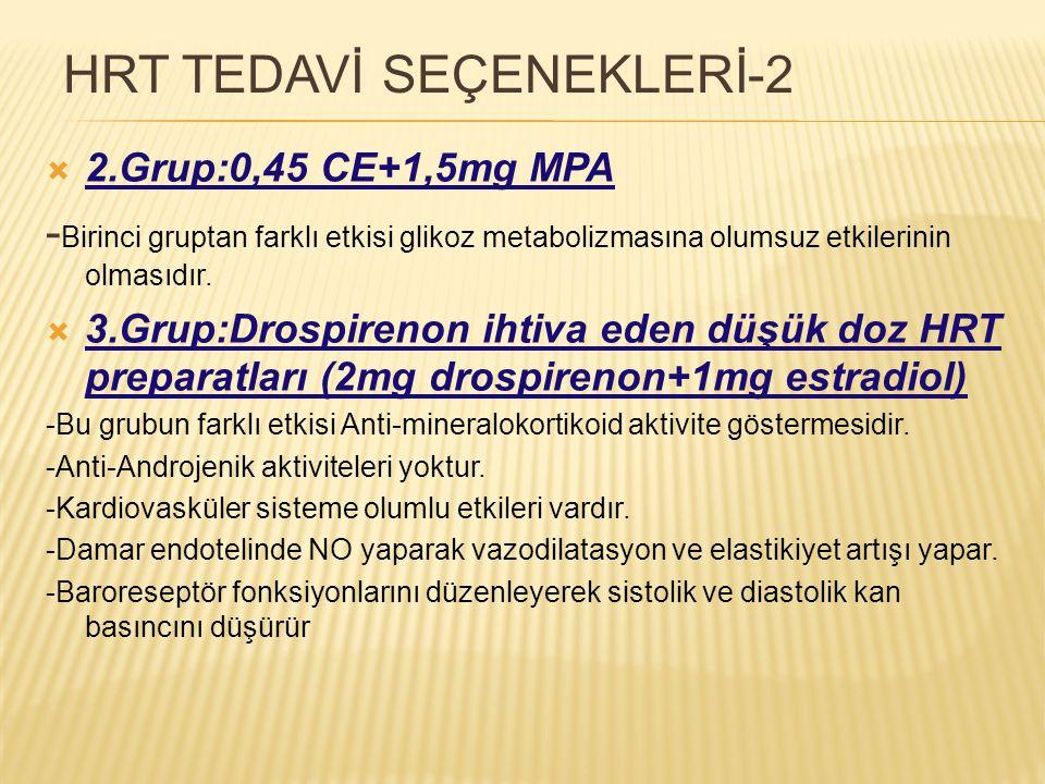 HRT TEDAVİ SEÇENEKLERİ-2