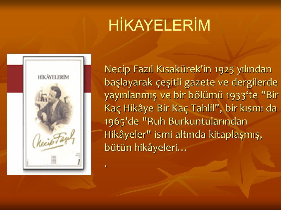 HİKAYELERİM