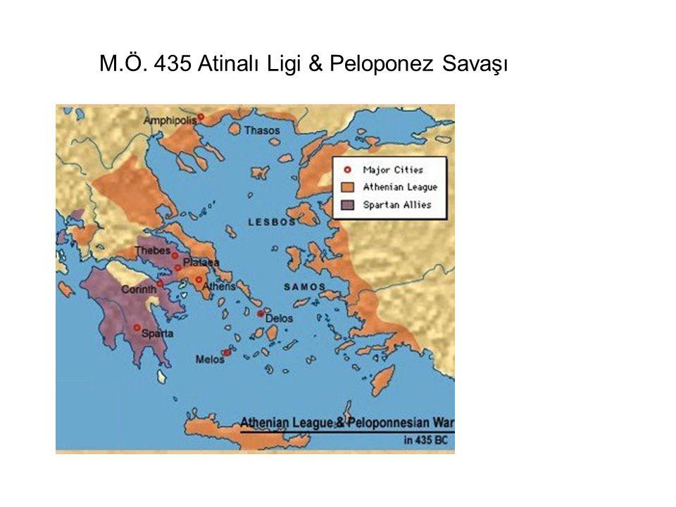 M.Ö. 435 Atinalı Ligi & Peloponez Savaşı
