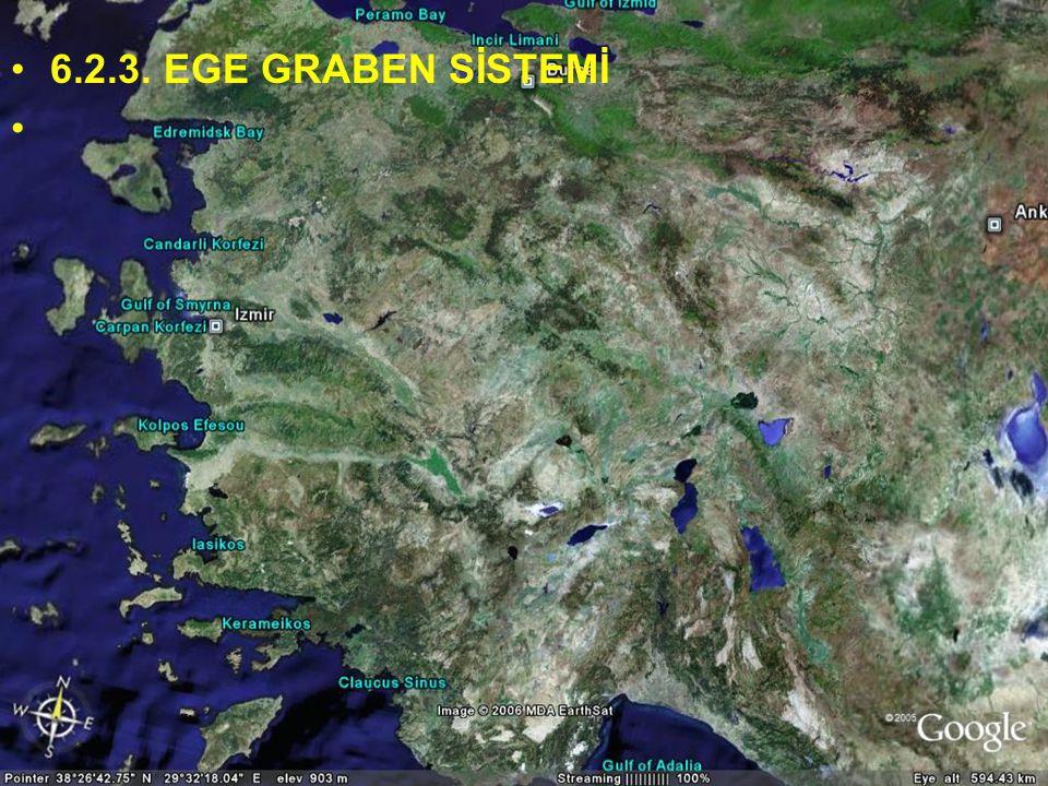 Doç.Dr. Yaşar EREN 6.2.3. EGE GRABEN SİSTEMİ