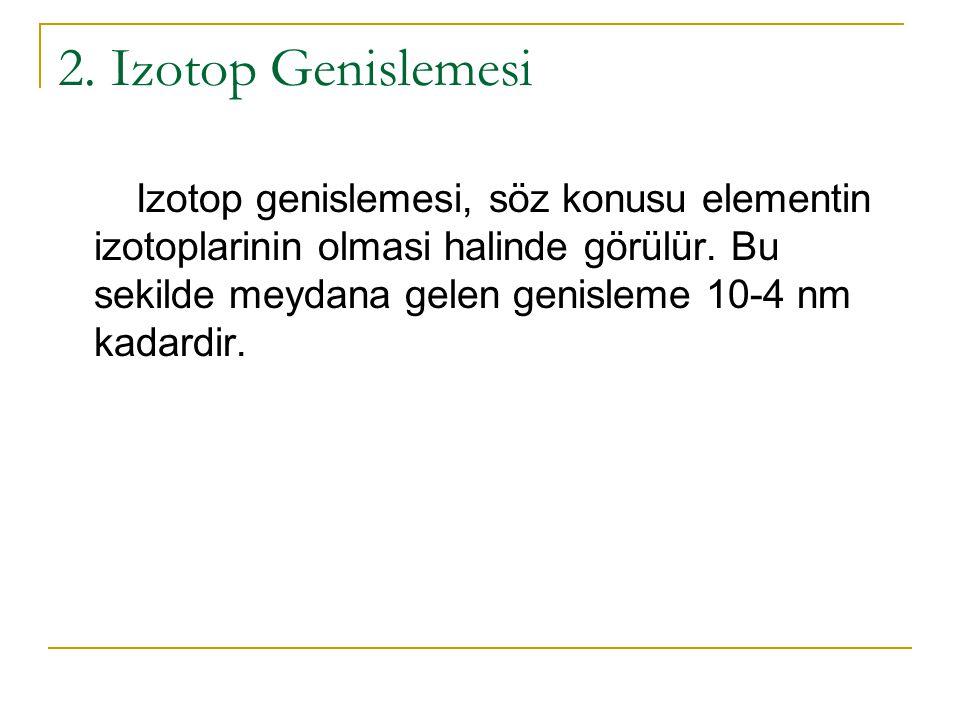 2. Izotop Genislemesi