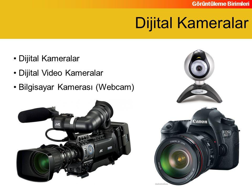 Dijital Kameralar Dijital Kameralar Dijital Video Kameralar