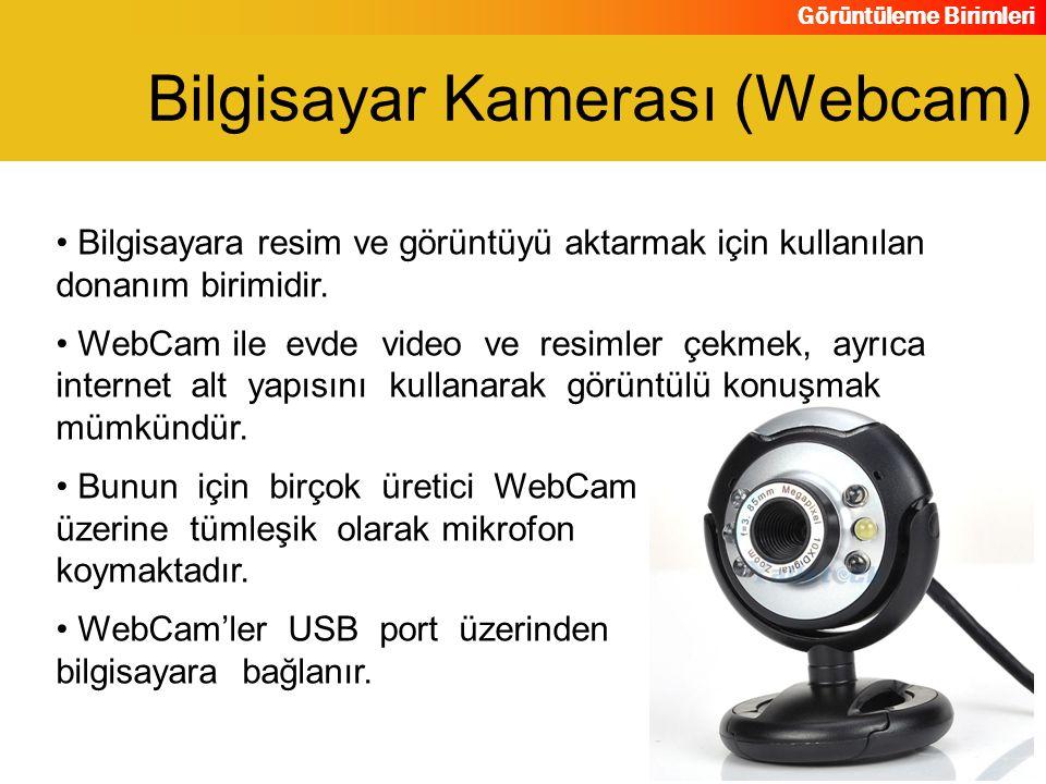 Bilgisayar Kamerası (Webcam)