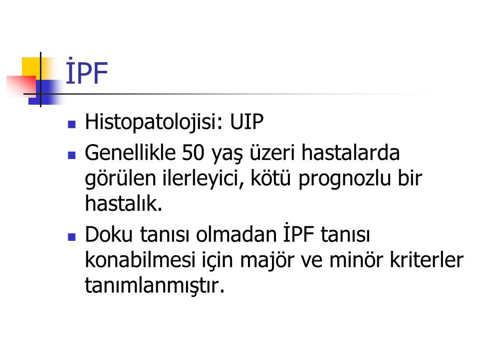 İPF Histopatolojisi: UIP