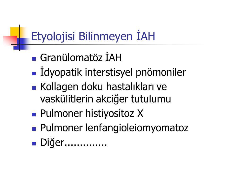 Etyolojisi Bilinmeyen İAH