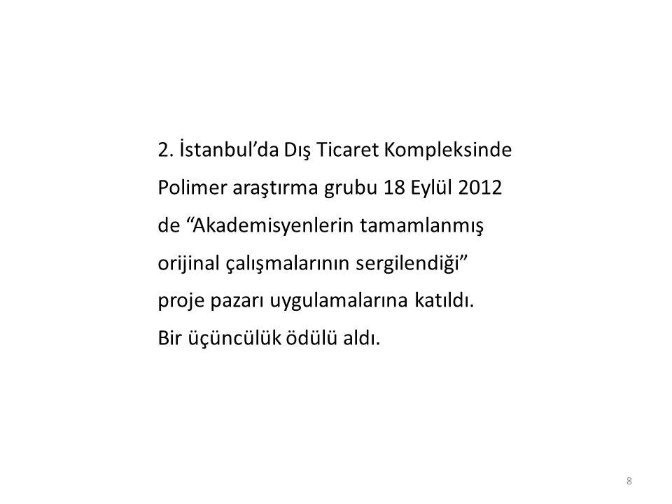 2. İstanbul'da Dış Ticaret Kompleksinde