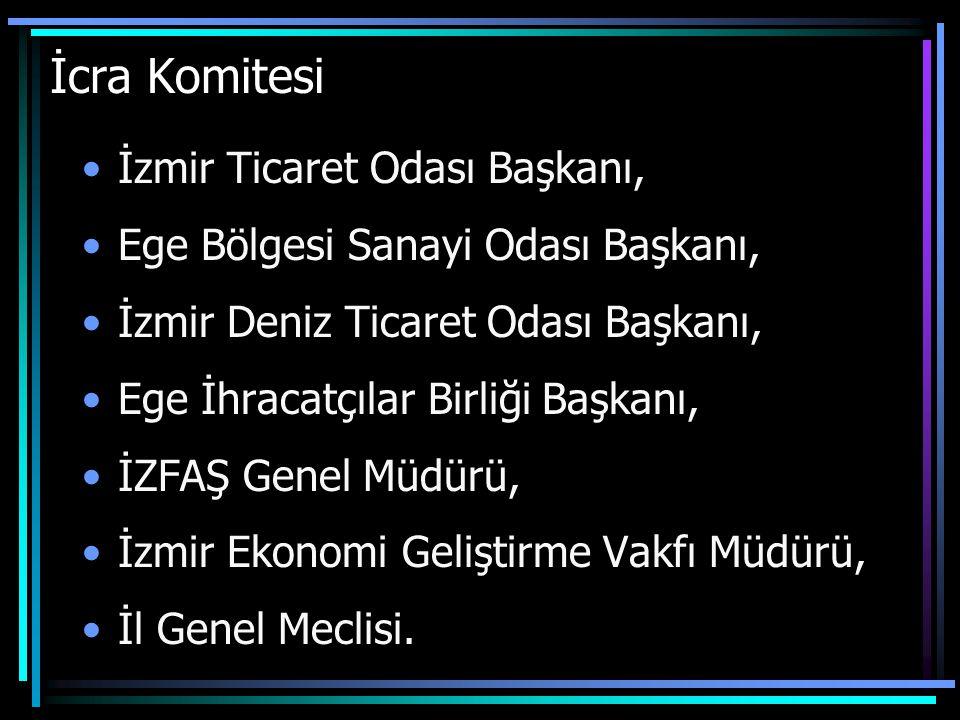 İcra Komitesi İzmir Ticaret Odası Başkanı,