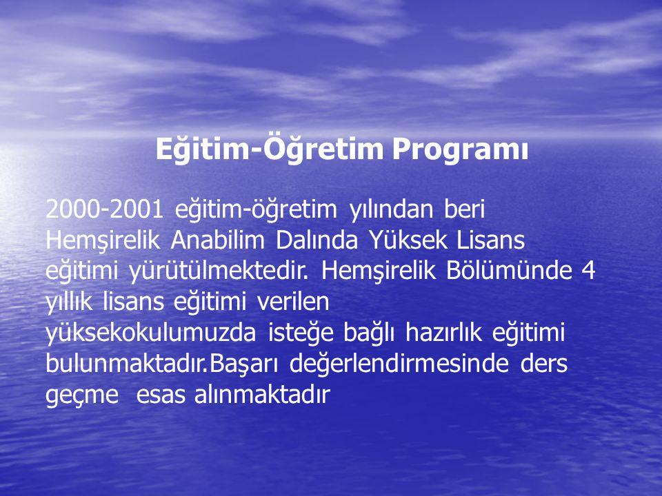 Eğitim-Öğretim Programı