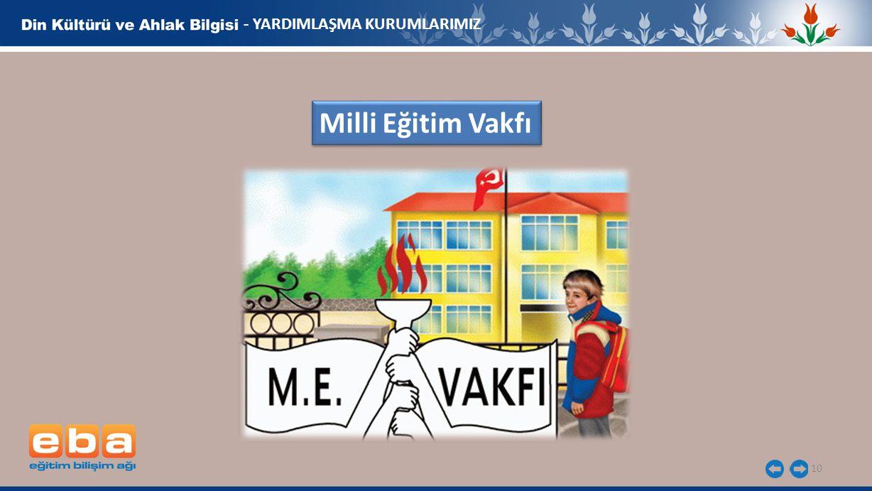 - YARDIMLAŞMA KURUMLARIMIZ