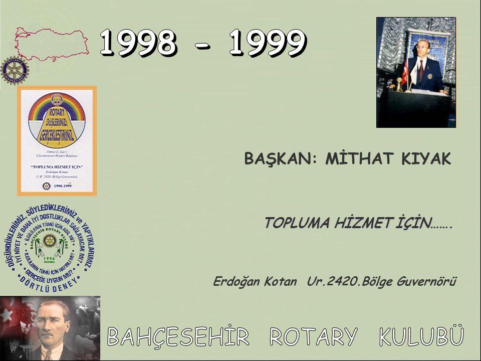 Erdoğan Kotan Ur.2420.Bölge Guvernörü