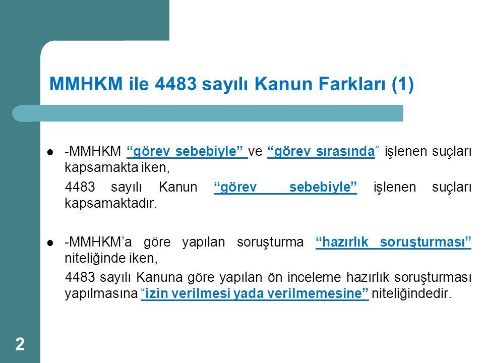 MMHKM ile 4483 sayılı Kanun Farkları (1)