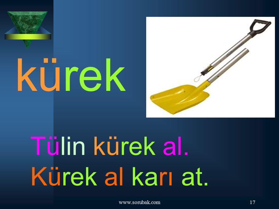 kürek Tülin kürek al. Kürek al karı at. www.sorubak.com