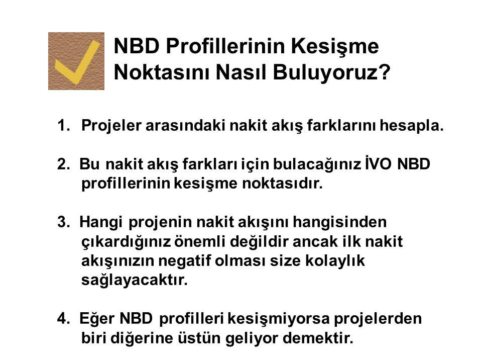NBD Profillerinin Kesişme Noktasını Nasıl Buluyoruz