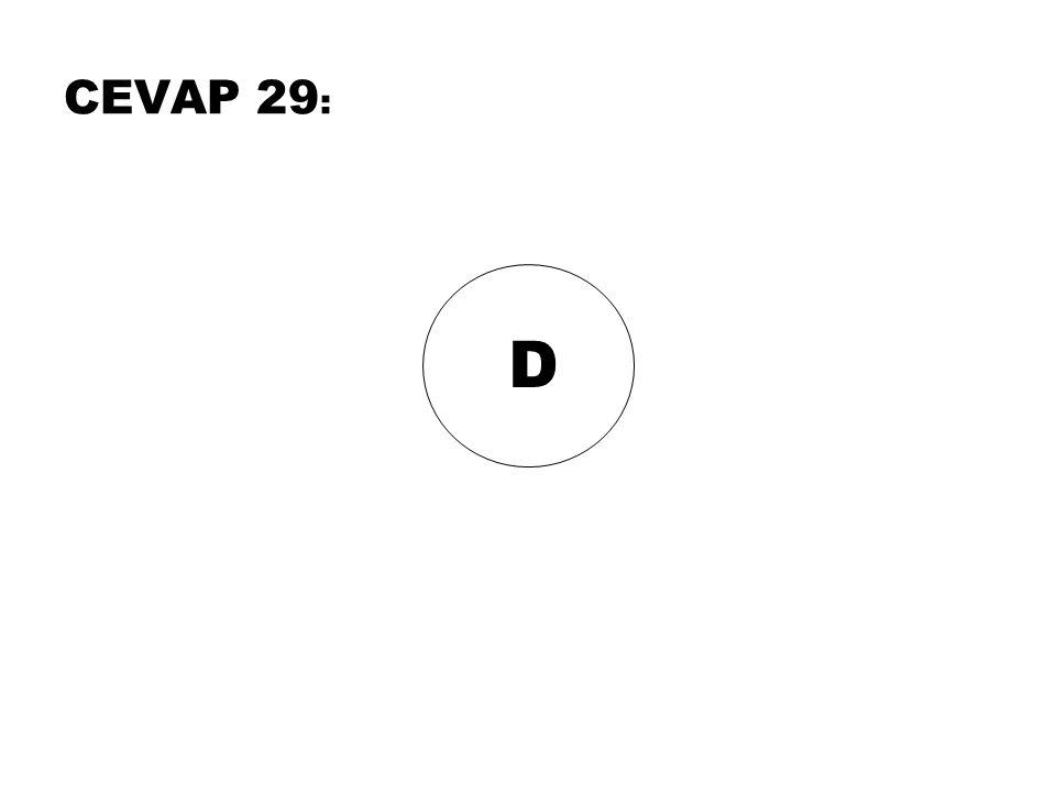 CEVAP 29: D