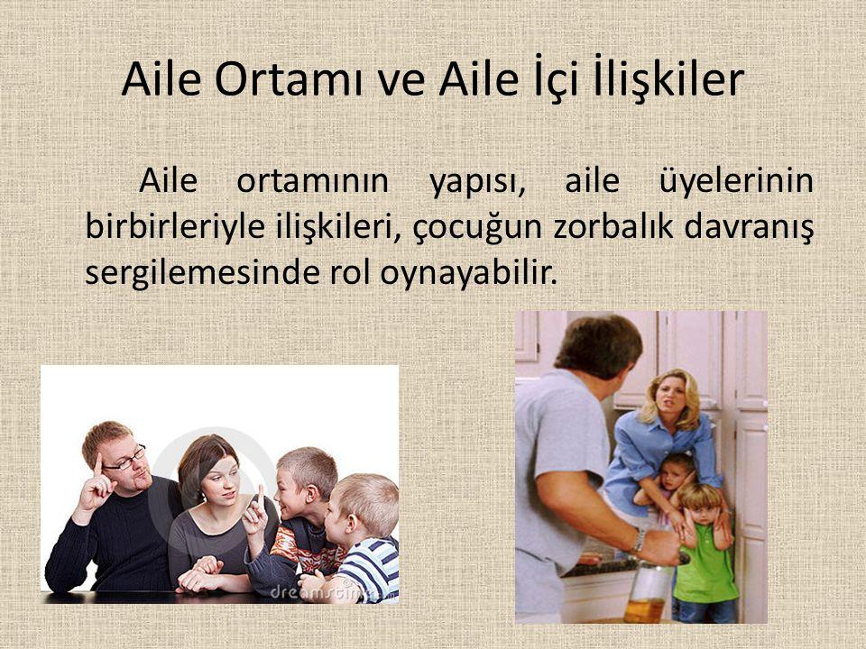 Aile Ortamı ve Aile İçi İlişkiler