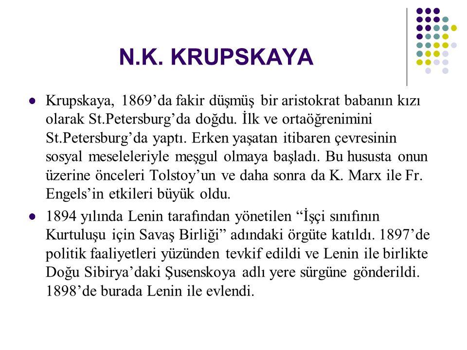 N.K. KRUPSKAYA