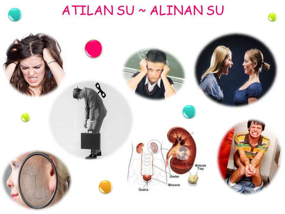 ATILAN SU ~ ALINAN SU