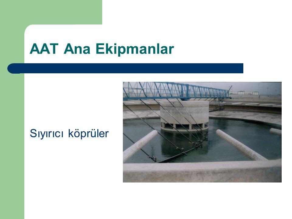 AAT Ana Ekipmanlar Sıyırıcı köprüler