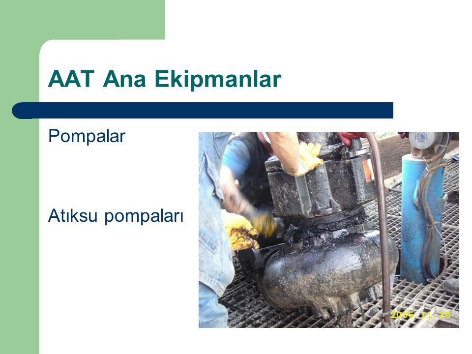 AAT Ana Ekipmanlar Pompalar Atıksu pompaları